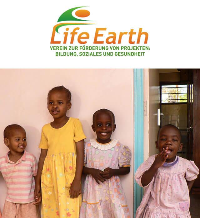 Soziale Projekte - Verein Life Earth